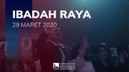 Ibadah Raya Minggu 29 Maret 2020 (GBI Pasteur Bandung)