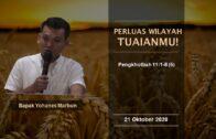 Ibadah Sekolah Minggu – RDMB Junior 11 Oktober 2020