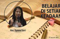 Ibadah Sekolah Minggu – RDMB Junior 17 Januari 2021
